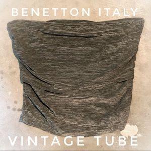 💚 VINTAGE TUBE - BENETTON 🇮🇹 Italy